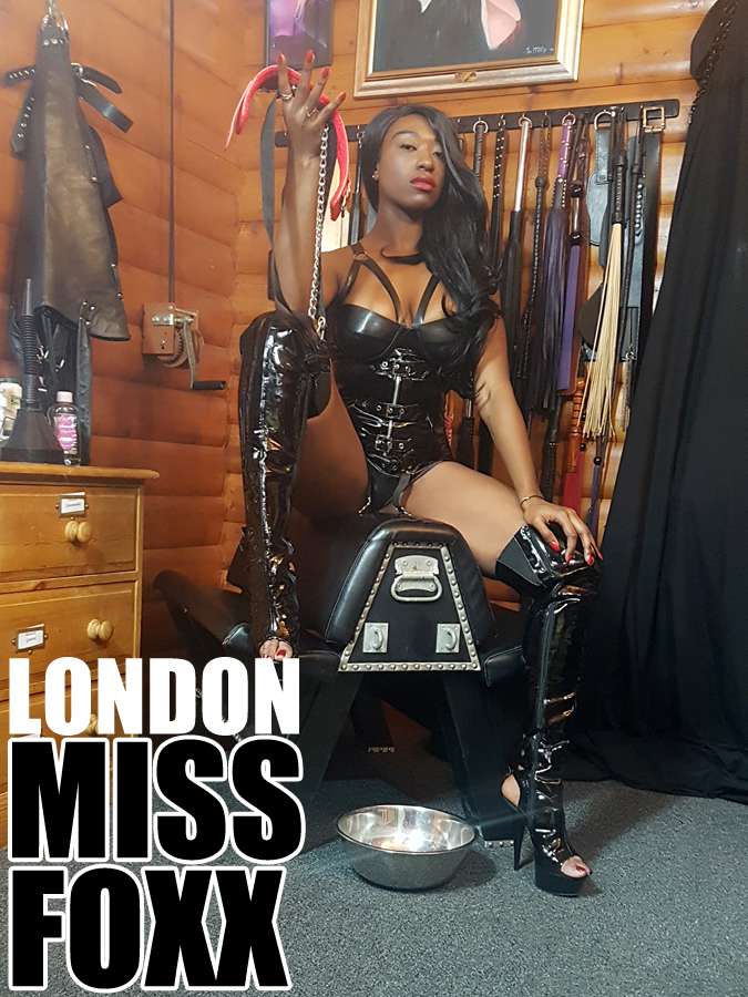 London Mistresses Miss Foxx